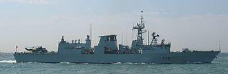 HMCS Montréal (FFH 336) - Image: HMCS Montreal FFH336