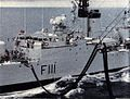 HMNZS Otago (F111) is refueled at sea in 1968.jpg