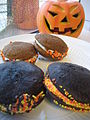 Halloween Whoopie Pie with pumpkin and chocolate.jpg