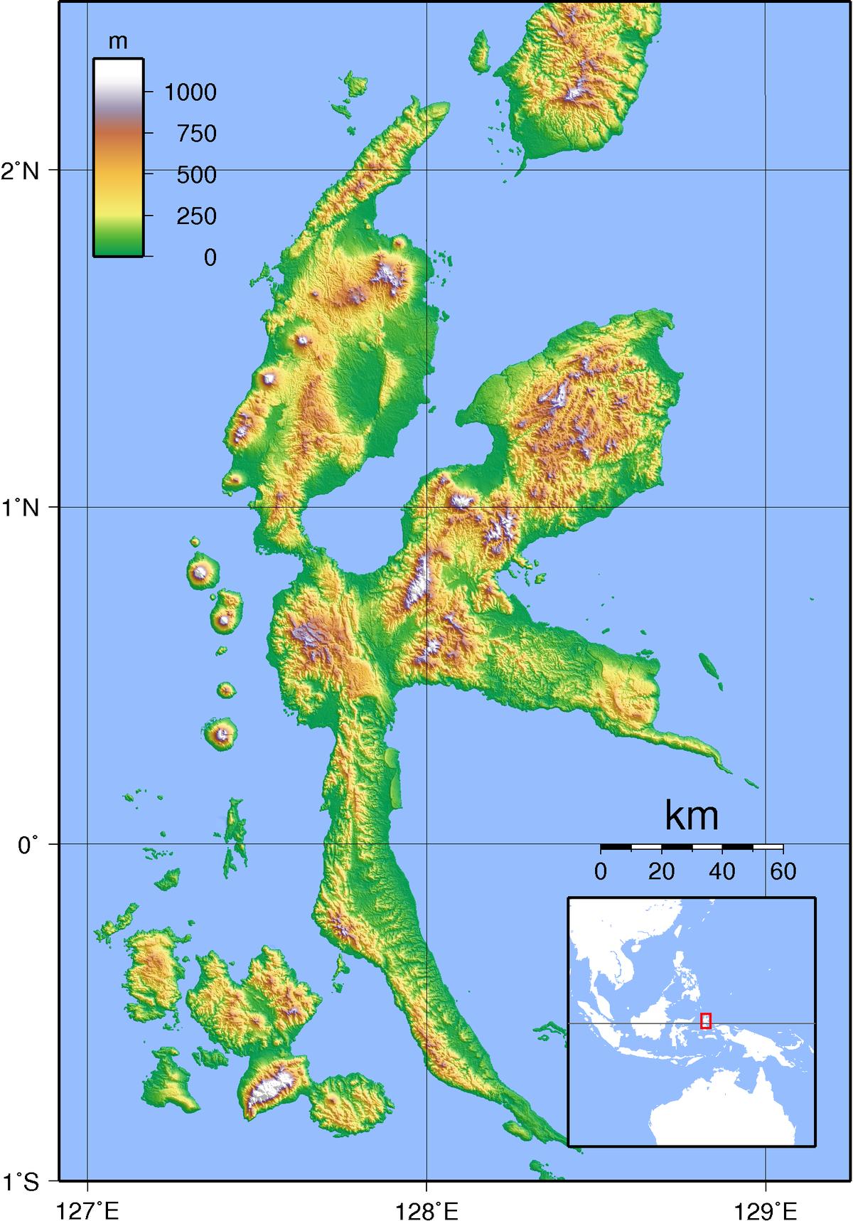 Pulau Halmahera Wikipedia Bahasa Indonesia Ensiklopedia Bebas