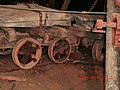 Hand Pushed Cart in the Slate Mines of Ffestiniog - panoramio.jpg