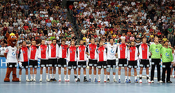 Handballteam Germany Men 01