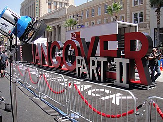 The Hangover Part II - The marquee at The Hangover Part II premiere outside Grauman's Chinese Theater in Hollywood, California.