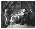 Hans Christian Andersen einem kranken Kinde Märchen erzählend.png