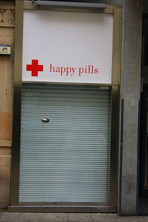 English: Happy Pills!!! (Tho I don't know what...