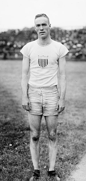 Harold Barron - Harold Barron at the 1920 Olympics
