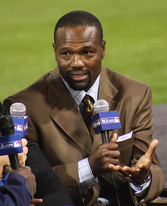 Harold Reynolds - At the 2008 World Series