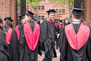 History of Harvard Extension School - Harvard Class of 2015 graduates in Harvard Yard