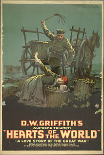<i>Hearts of the World</i> 1918 film by D. W. Griffith