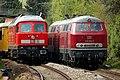 Heidelberg - DR-Baureihe 130 (234-278) und DR-Baureihe 215 (215-018) -.jpg