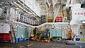 Helicopter hangar of JS Fuyuzuki(DD-118) inside view at JMSDF Maizuru Naval Base July 27, 2014 02.jpg