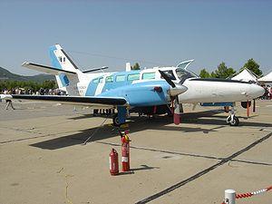 Reims-Cessna F406 Caravan II - An F406 of the Hellenic Coast Guard