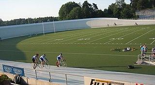 Helsinki Velodrome outdoor velodrome and american football stadium in Helsinki, Finland