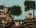 Henri Rousseau - Paysage, le pont.jpg