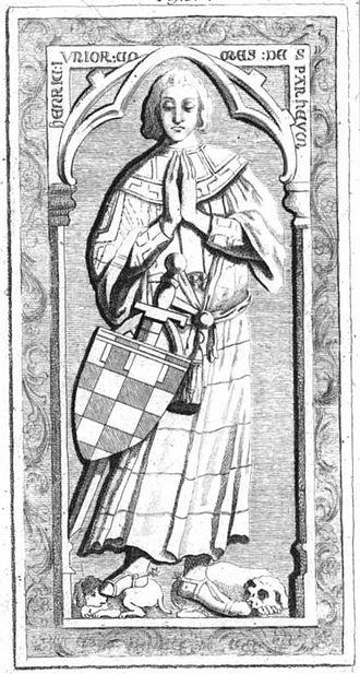 Loretta of Sponheim - Image: Henricus Junior Comes de Spanheym.section