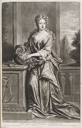 Signatories to the Ladies' Petition for the Establishment of the Foundling Hospital - Image: Henrietta Crofts, Duchess of Bolton