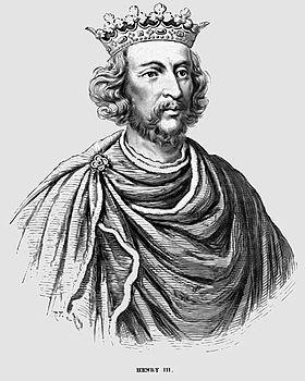 Генрих iii король англии