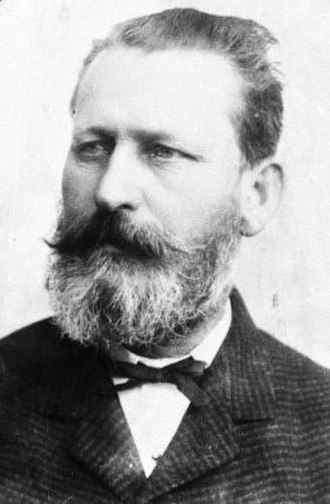 Mayor of Dunedin - Henry Fish was to become mayor twice, in the 1870s and the 1890s.