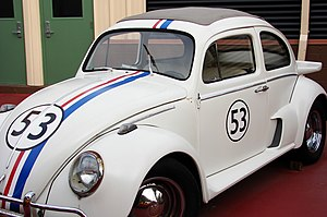 "Herbie - 2005 Fully Loaded version of Herbie, specifically his ""Street Race"" look"