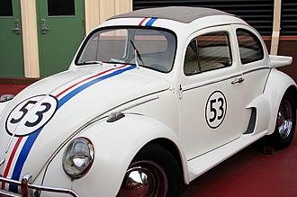 """Herbie - 2005 Fully Loaded version of Herbie, specifically his """"Street Race"""" look"""