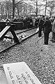 Herdenking bevrijding voormalig kamp Westerbork 40 jaar geleden twee minuten st, Bestanddeelnr 933-3004.jpg