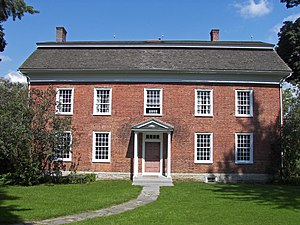 Herkimer (village), New York -  General Herkimer Home near Herkimer, NY (2009)