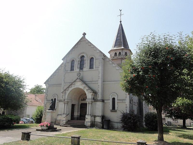 Hermeville-en-Woëvre (Meuse) église