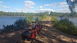 Hesjoen_lake_railbikes.jpg