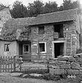 Hiša in štala (hlev), pri Beržinarjevih, Slivje 1955.jpg