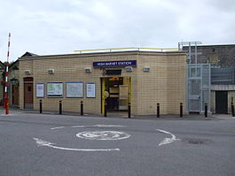 High Barnet stn new southern entrance.JPG