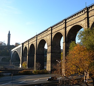 Highbridge, Bronx - The High Bridge, part of the old Croton Aqueduct