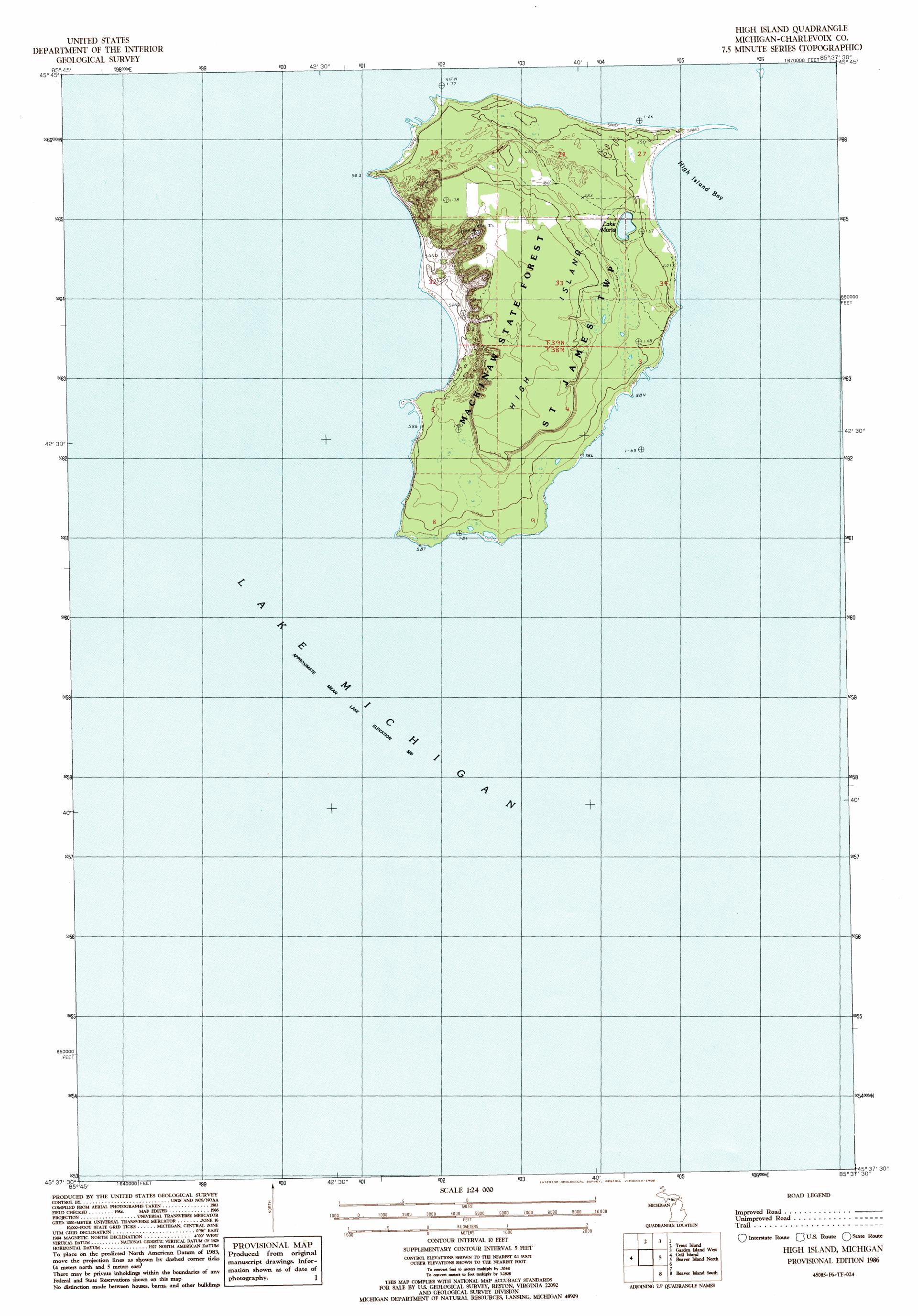 Michigan Natural Resources Charlevoix Mi