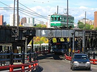 High Level Bridge Streetcar - High Level Bridge Streetcar restored from Japan