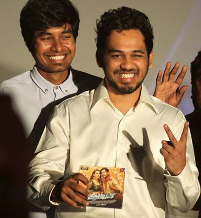 Picture of a band or musician: Hiphop Tamizha