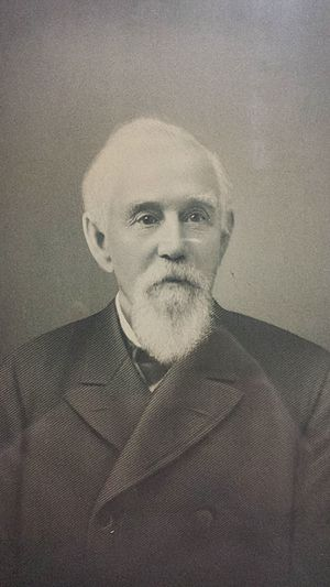Hiram Walker - Hiram Walker, from a picture located in the archives of Hiram Walker and Sons