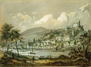 Hirschhorn (Neckar) - Hirschhorn 1848