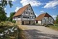 Hohenloher Freilandmuseum - Baugruppe Hohenloher Dorf - Haus Veit und Scheune aus Obereppach.jpg