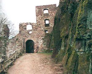 Hohnstein Castle - Hohnstein Castle – entranceway