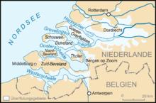 Zeeland Holland Karte.Nordsjoflaumen I 1953 Wikipedia