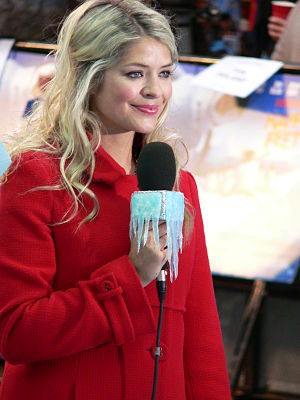 Holly Willoughby - Willoughby at the premiere of Happy Feet in 2006.