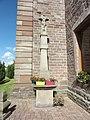 Hommarting (Moselle) Église Saint-Martin extérieur, croix.jpg