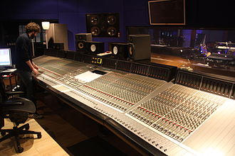 Hookend Recording Studios - The control room at Hookend