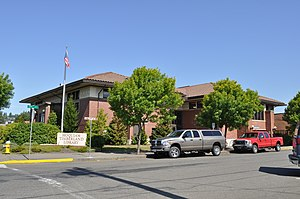 National Register of Historic Places listings in Grays Harbor County, Washington - Image: Hoquiam Timberland Library 01