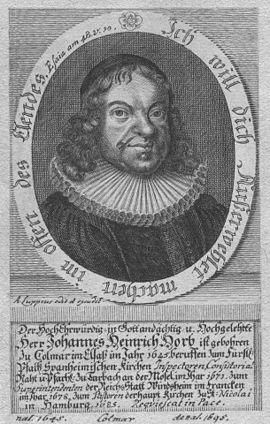 Johann Heinrich Horb
