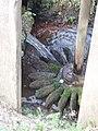 Horizontal water wheel, Irish National Heritage Park - geograph.org.uk - 1255048.jpg