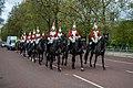 Horse Guards approaching Buckingham Palace.jpg