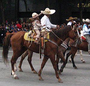 charros mexiko 16 septiembre 2009