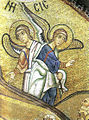 Hosios Loukas Katholikon (nave, South-East squinch) - Nativity - detail 01.jpg