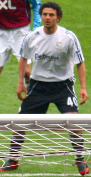 Hossam Ghaly - Ghaly playing on loan at Derby County in 2008