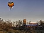 Hot air balloon over an Ohio Farm.jpg